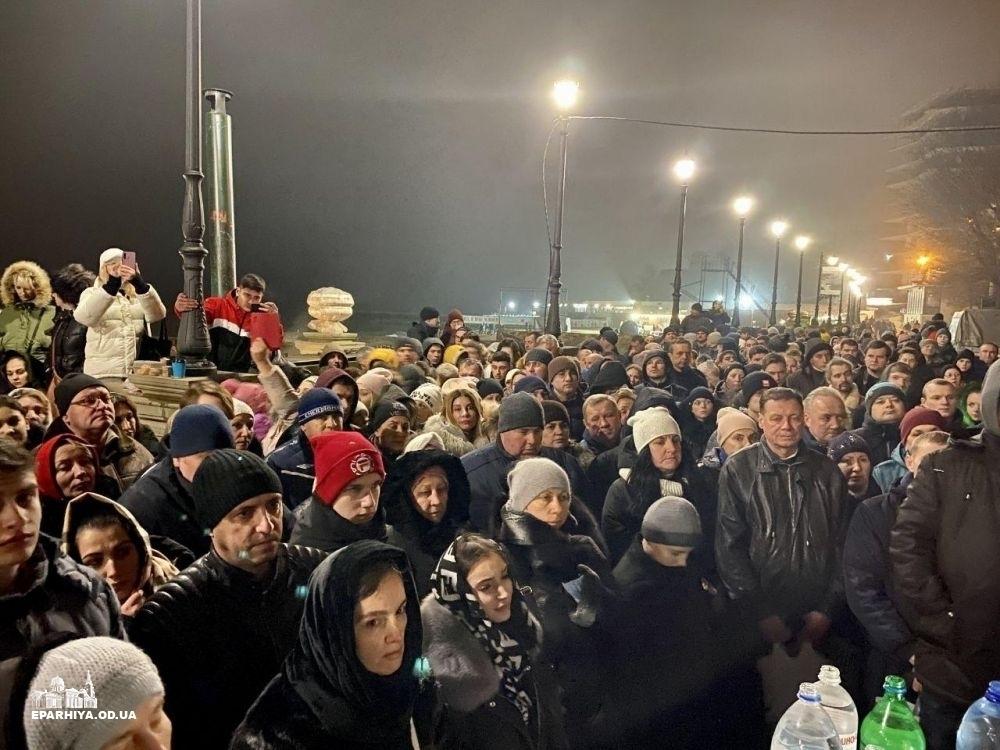 Водохреще в Одесі