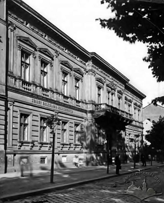 Фото будівлі Львівської картинної галереї, 1914 рік