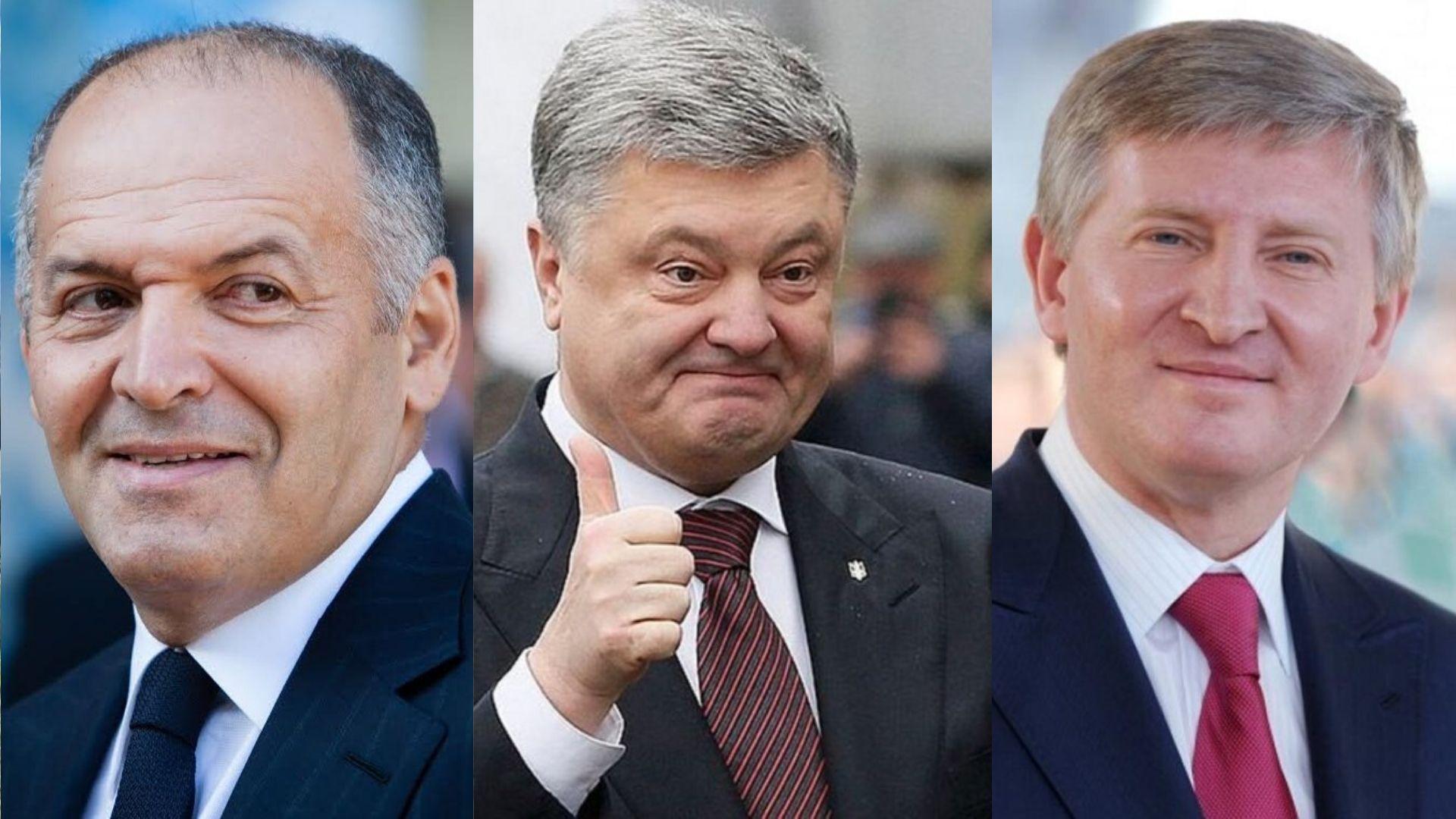 Ахметов, Пінчук та Порошенко - найбагатші люди в Україні – Forbes