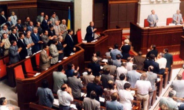 Як приймали Конституцію України в 1996 році: раритетні фото та відео - фото 177386