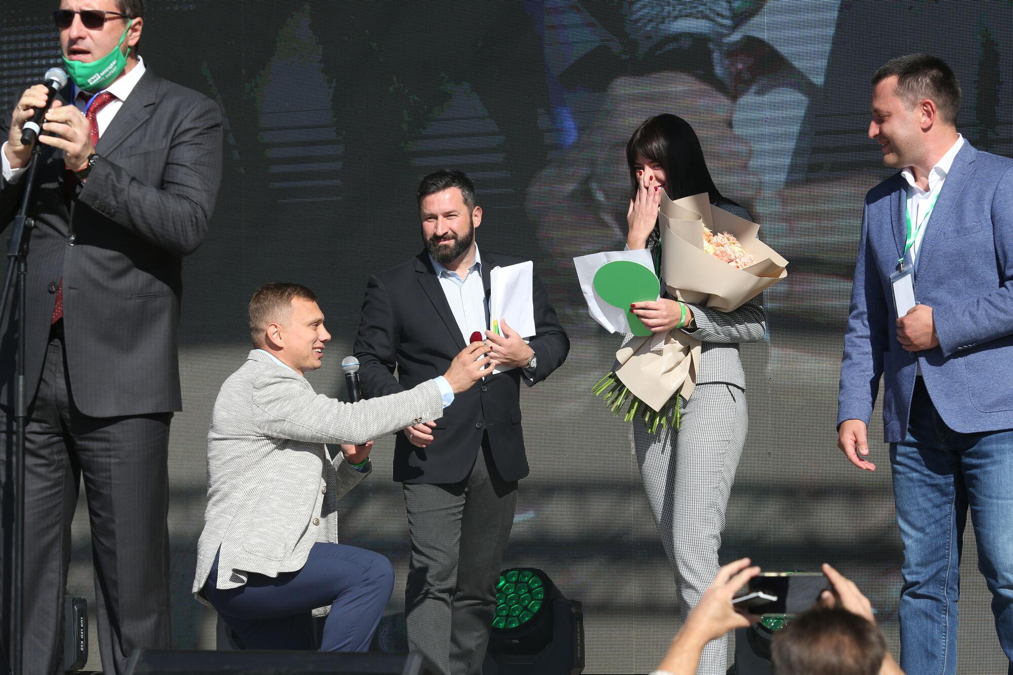 """З'їзд партії """"Слуга народу"""" у Слов'янську"""