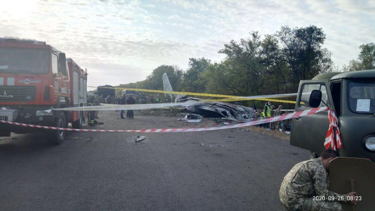 На місці катастрофи знайшли тіло ще одного курсанта.