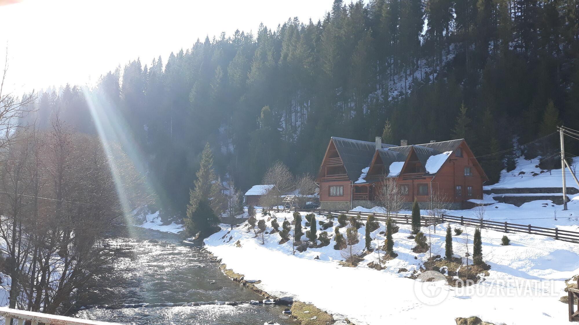 селище Славське