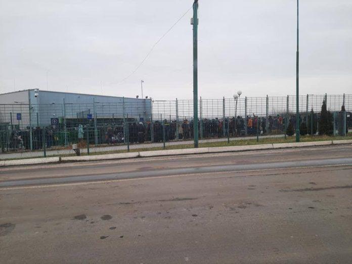 «Локдаун на хліб не намажеш»: в соцмережі опублікували фото величезних черг на кордоні з Польщею (фото)
