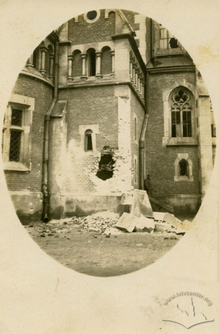 Зруйнований костел, Фото: uma.lvivcenter.org