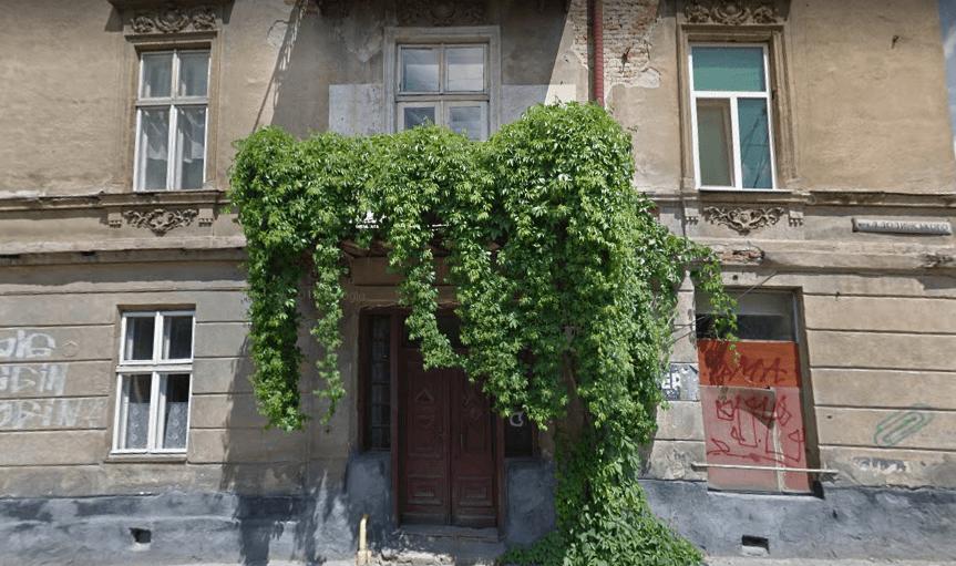 """Вулиця Долинського, 2; місце аптеки """"Під надією"""""""
