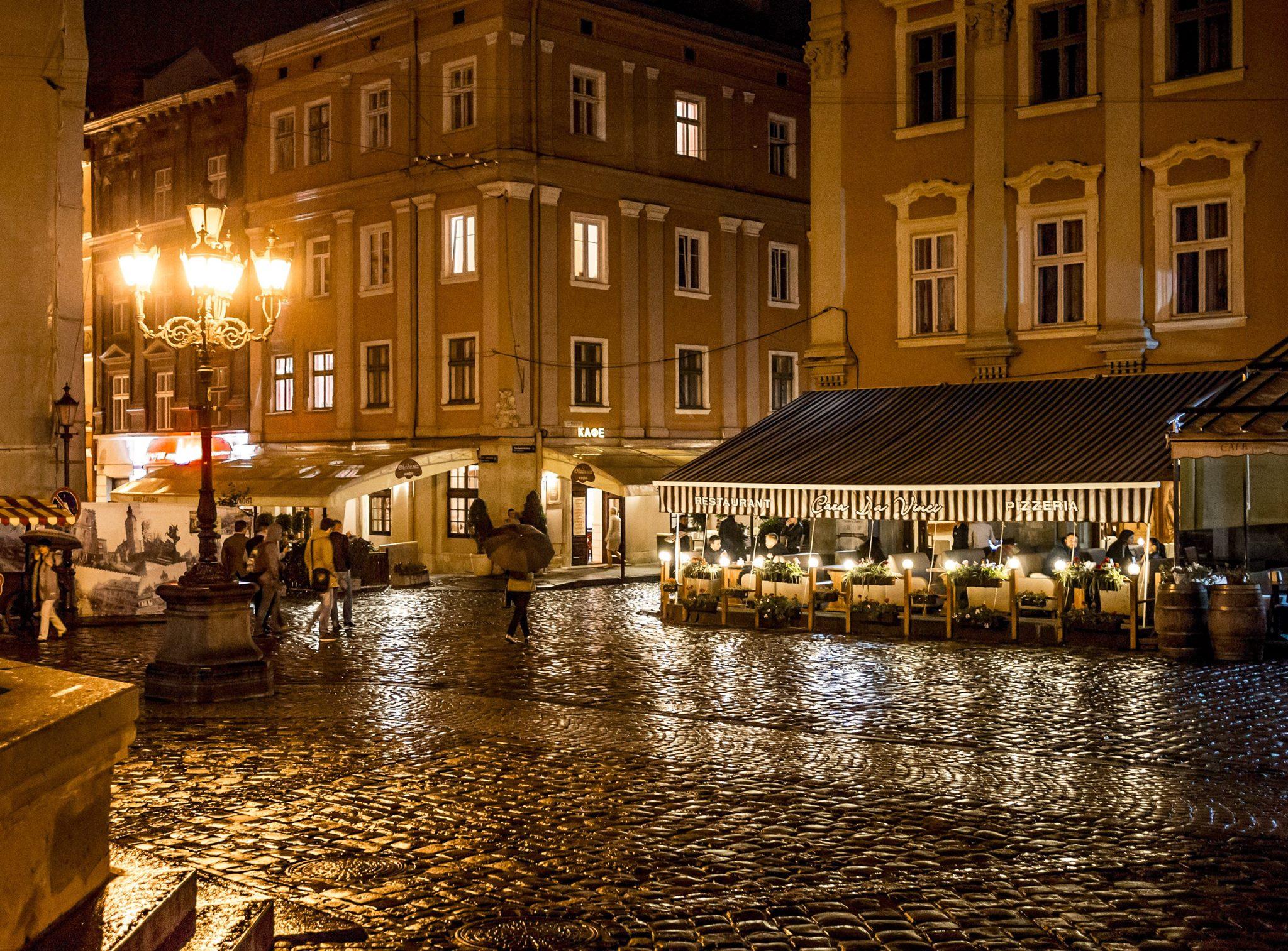 Дощ у Львові © Taras Dzedzey