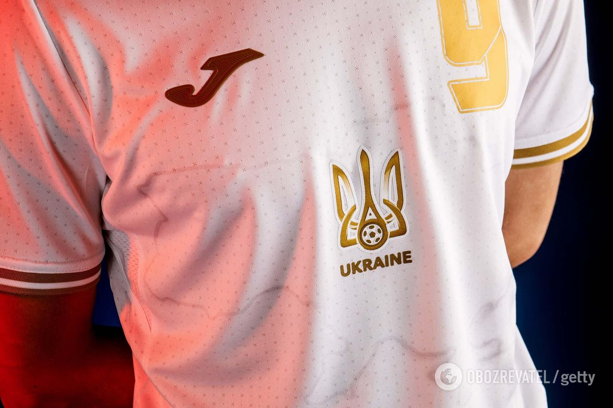 У збірної України знову будуть три комплекти форми.