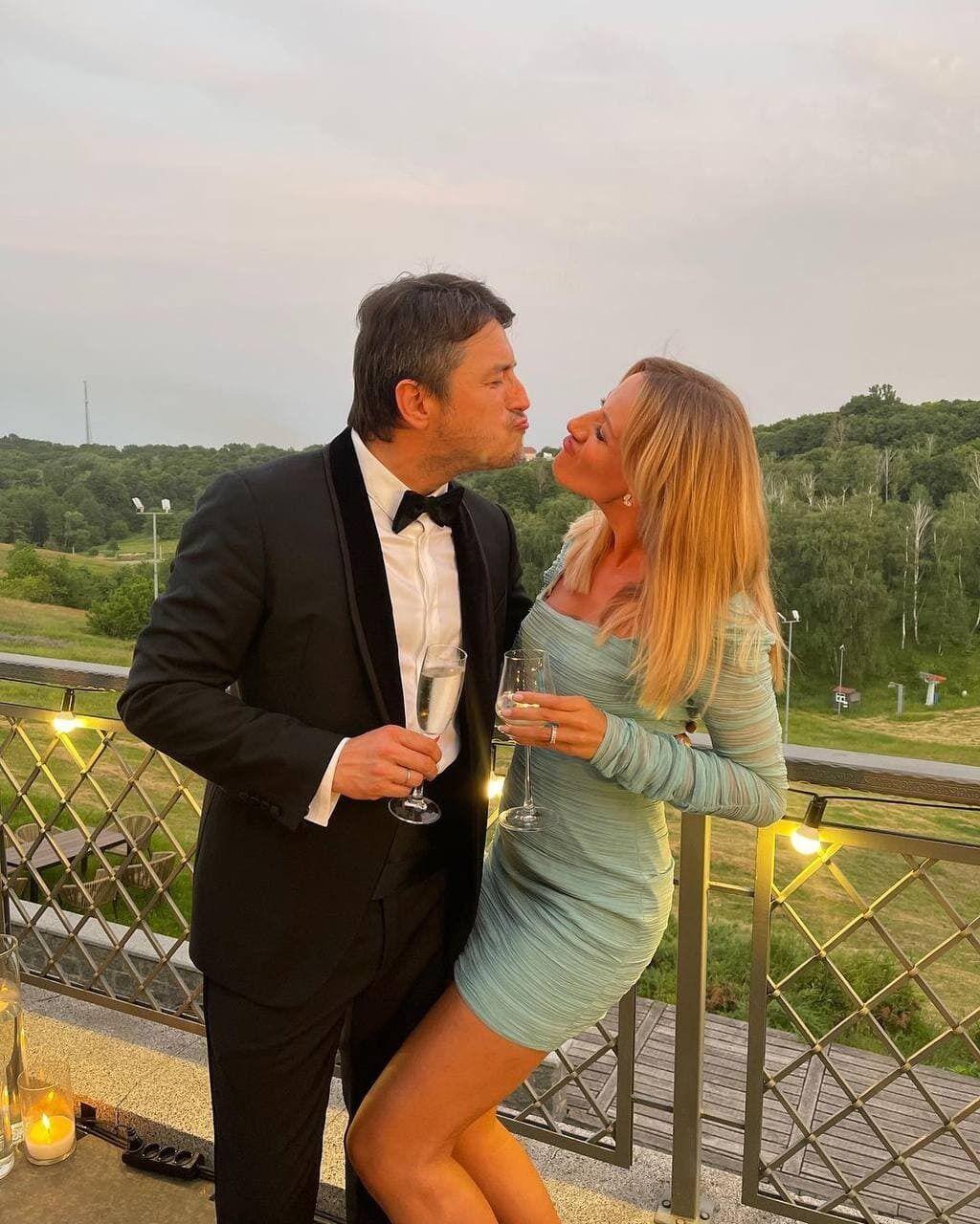 Леся Нікітюк та Сергій Притула
